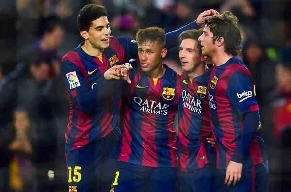 FC Barcelona -5, Elche - 0
