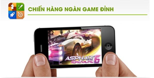 hkphone 4s retina pro CHIẾN HÀNG NGÀN GAME ĐỈNH