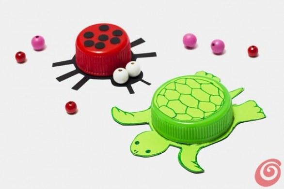 Top Riciclo Creativo Bottiglie di Plastica: Lavoretti per Bambini EH11