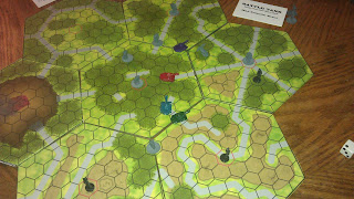 Demo prototype modular hex map for battle tank