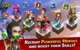 Castle Clash: Age of Legends v.1.2.77 Apk Data