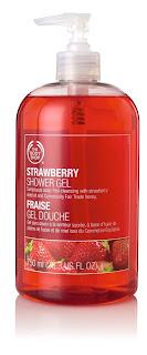The Body Shop – Strawberry Shower Gel – truskawkowy żel pod prysznic i do kąpieli [recenzja]