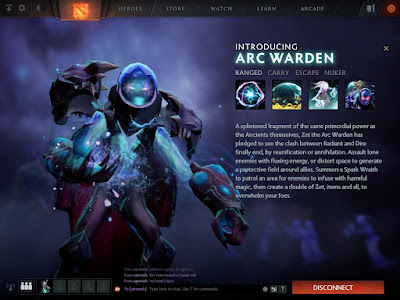 Screenshot New Hero : Arc Warden