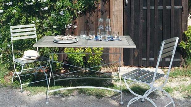 mobiliario jardim area: mobiliário de jardim em metal ~ Decoração e Ideias – casa e jardim