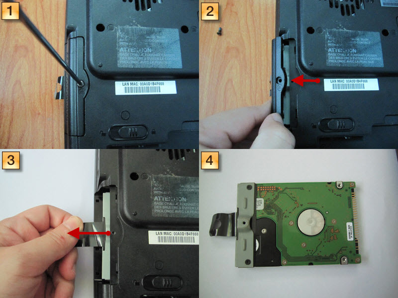 Homemade Diy Howto Make How To Remove Toshiba Satellite A60 Series