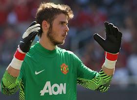 De Gea Manchester United 2011-2012