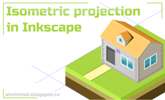 Learn to Draw 2D Art: Isometric projection in Inkscape