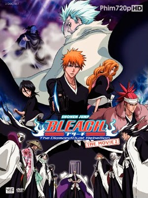 Bleach Movie 2: The Diamond Dust Rebellion 2007 poster