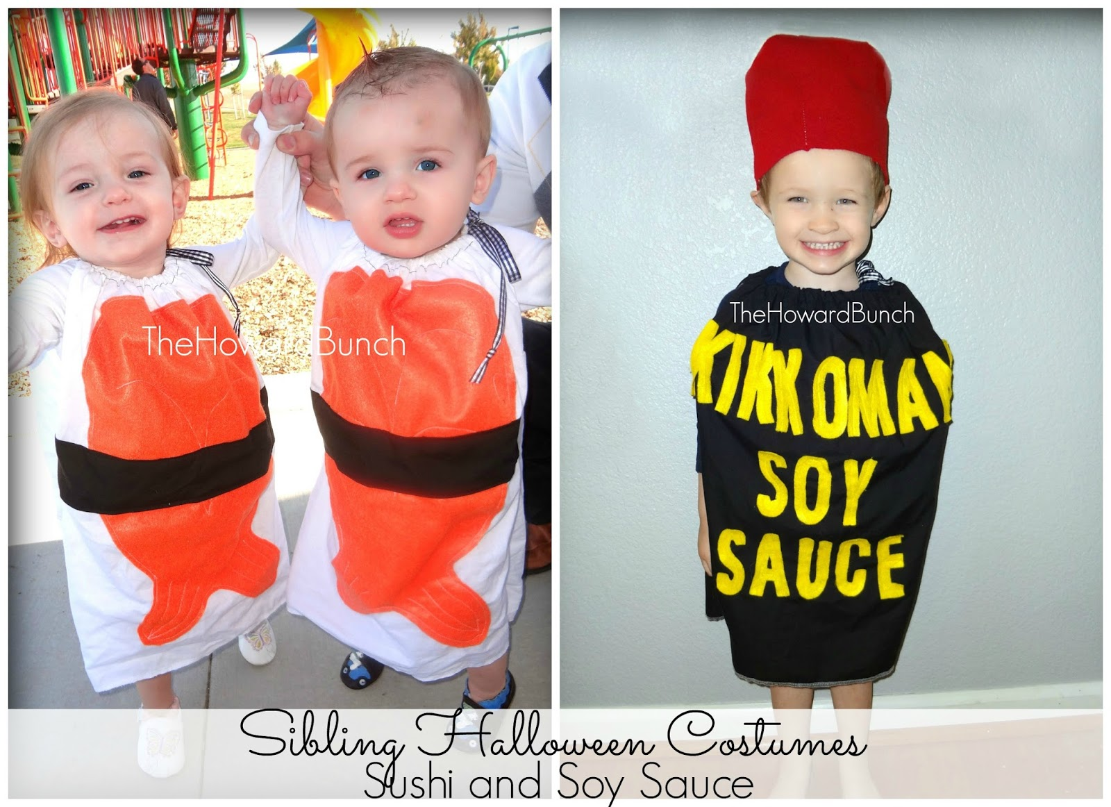 when the twins were twoyearsold and connor was four they went as bam bam pebbles and fred flintstone my mom and i handmade these costumes