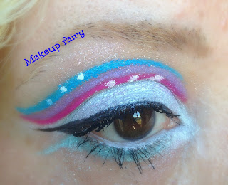 monster high abbey bominable eye makeup