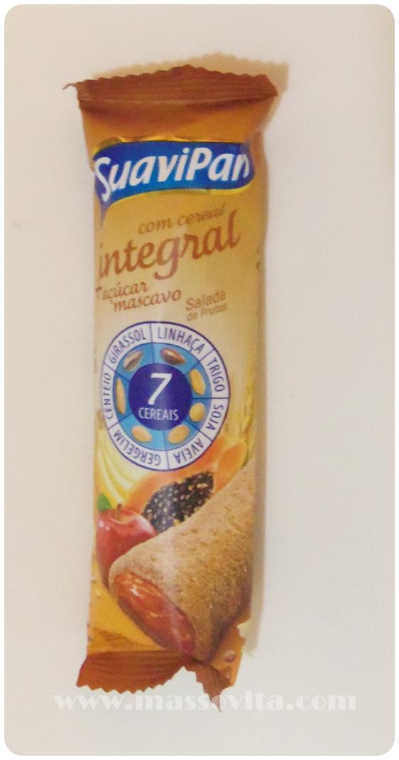 Barra cereal integral