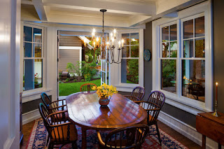 Take a look at this picture. This is one of some pictures of dining room tables and chairs for 6 people.