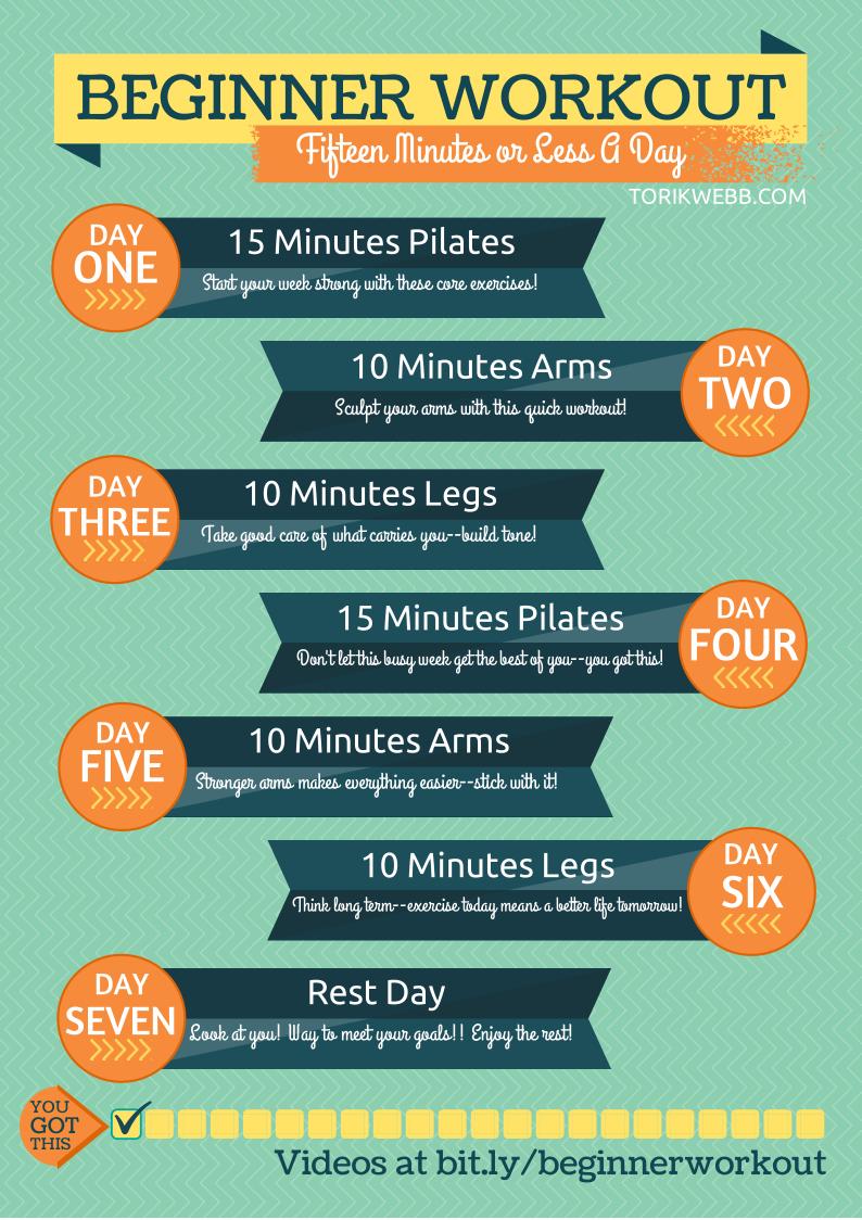 Tori K Webb: Beginner Workout
