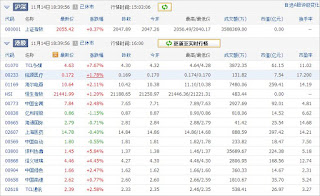 中国株コバンザメ投資ウォッチ銘柄watch1114