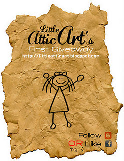 Little Attic Art's - First Giveaway