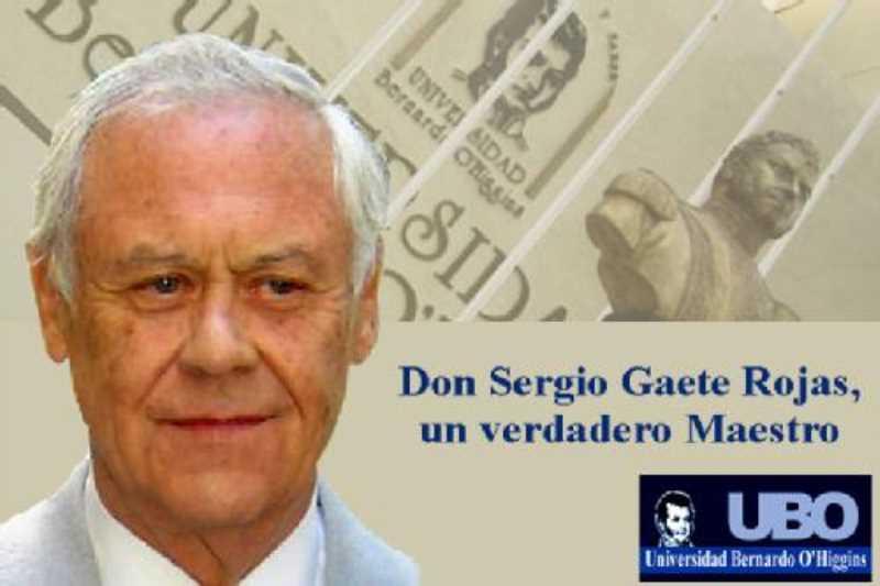 don Sergio Gaete Rojas