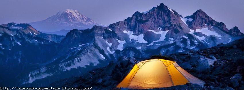 Couverture facebook pour camping
