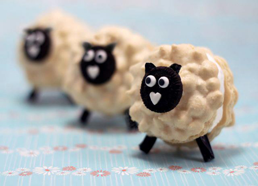 lamb macarons by Project Denneler