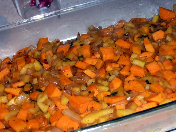 Mostly Food and Crafts: Sweet Potato and Apple (Un)Stuffed Pork Chops ...