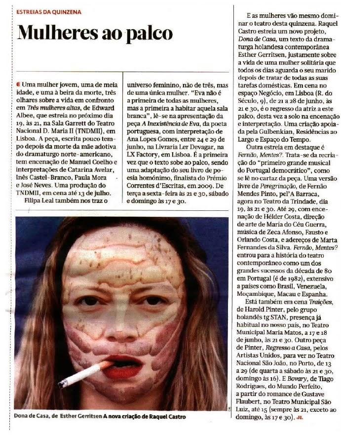 EM DESTAQUE | «Mulheres ao Palco»