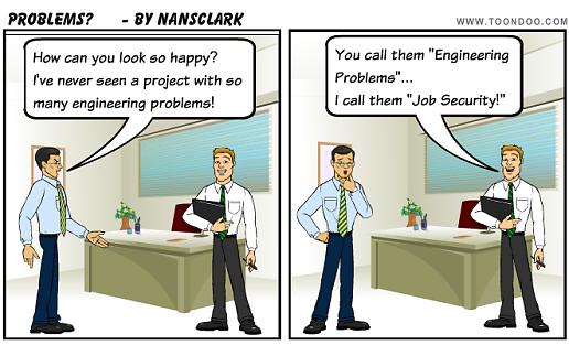 Engineering Problems Cartoon Thursday on Technical Writer Cartoons