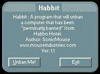 Desbloquea tu Habbo con un Click