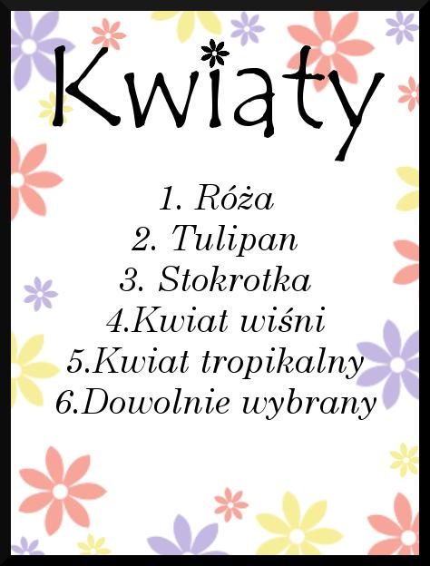 KWIATY ;-)