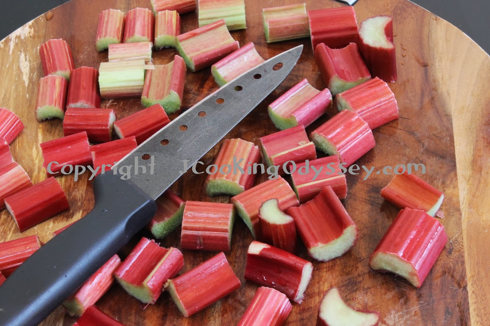 ... Cooking Odyssey: Roasted Spiced Strawberry and Rhubarb Chutney
