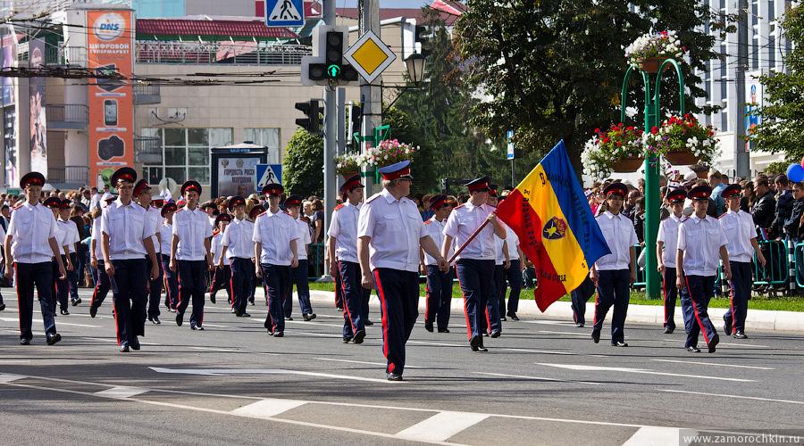 Театрализованное шествие 'ВСЕ мы - Россия'. Празднование Тысячелетия единения мордовского народа с народами России