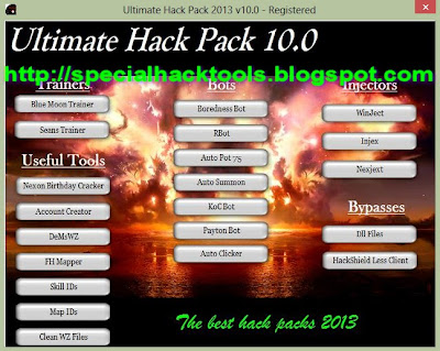 Ultimate Hack Pack 10 v2013