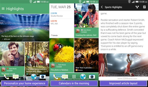 Disponibile al download Htc BlinkFeed sul Google Play store