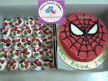 SPIDERMAN CAKE (RM70)