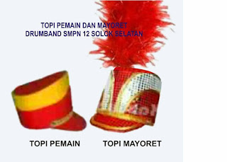 TOPI MAYORET MARCHINGBAND