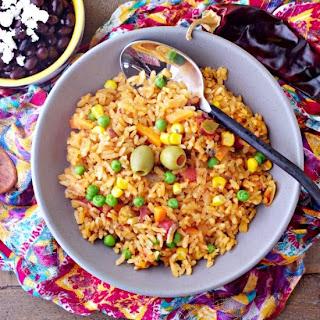 recipe, rice, Mexican food