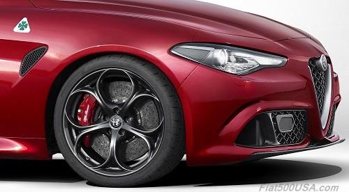 Alfa Romeo Giulia Quadrifoglio Wheels