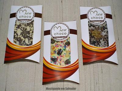 Meu Choco: As barras de Chocolate