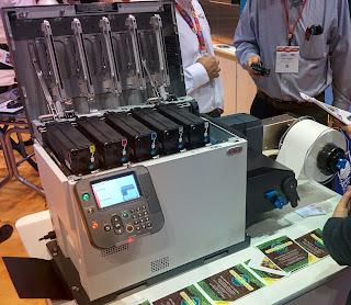 5 color label laser printer