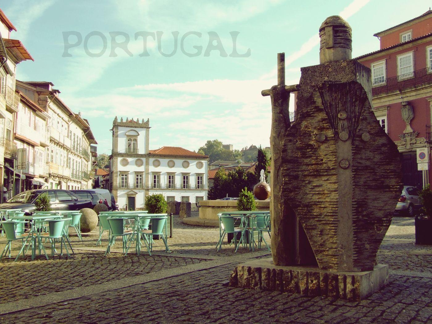 Portugál szeptember - Guimaraes