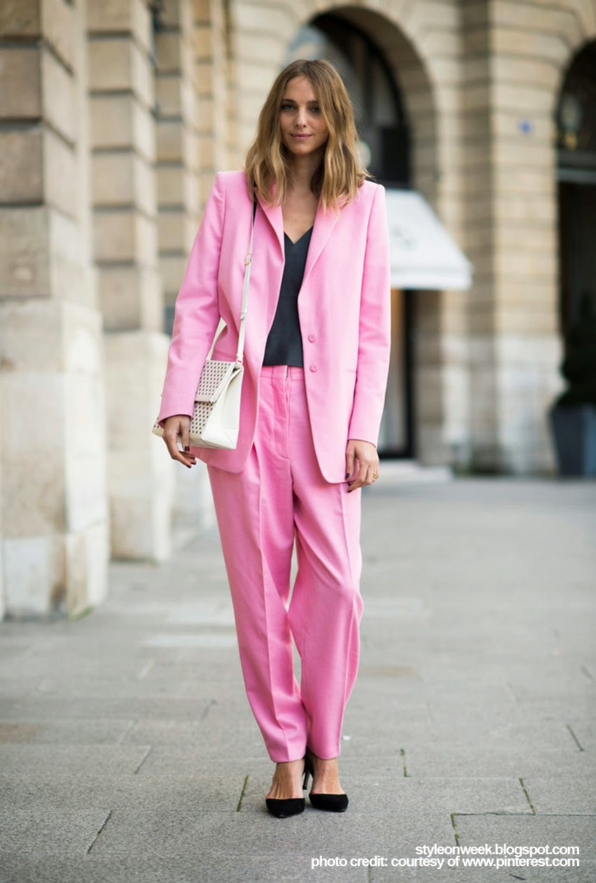 Fabulous Street Style from Paris Fashion Week Autumn-Winter 2014 Part 2