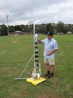 Cohete de agua casero + paracaidas + sist. de paracaidas