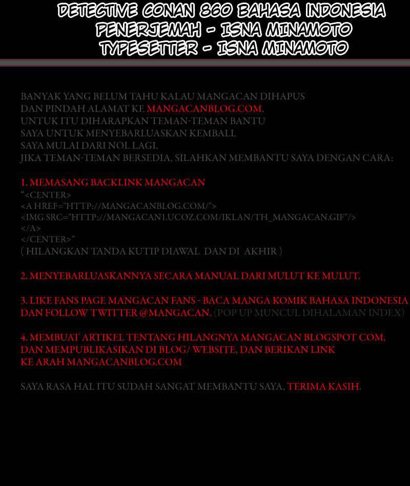 Komik detective conan 860 861 Indonesia detective conan 860 Terbaru 3|Baca Manga Komik Indonesia|Mangacan