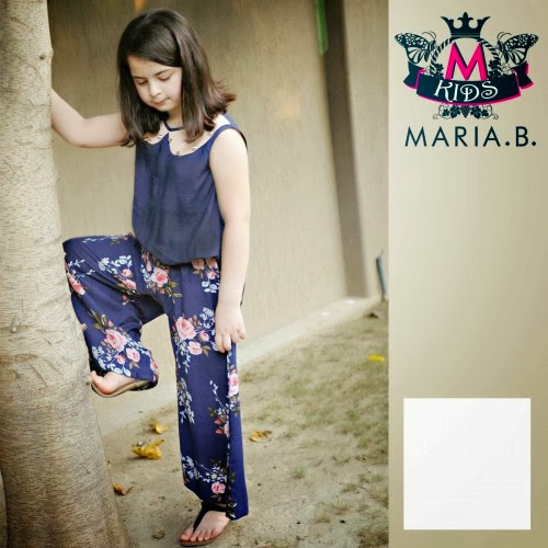 New Party Wear Winter dresses Collection For Women & Kids Fashion By Maria B
