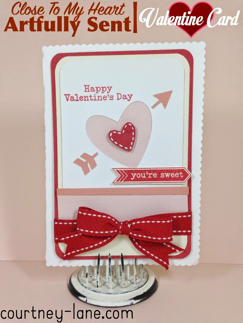 Close To My Heart Artfully Sent Valentine Pop-Up card