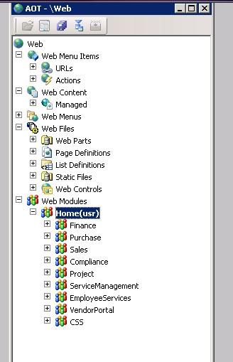 AOT Web components