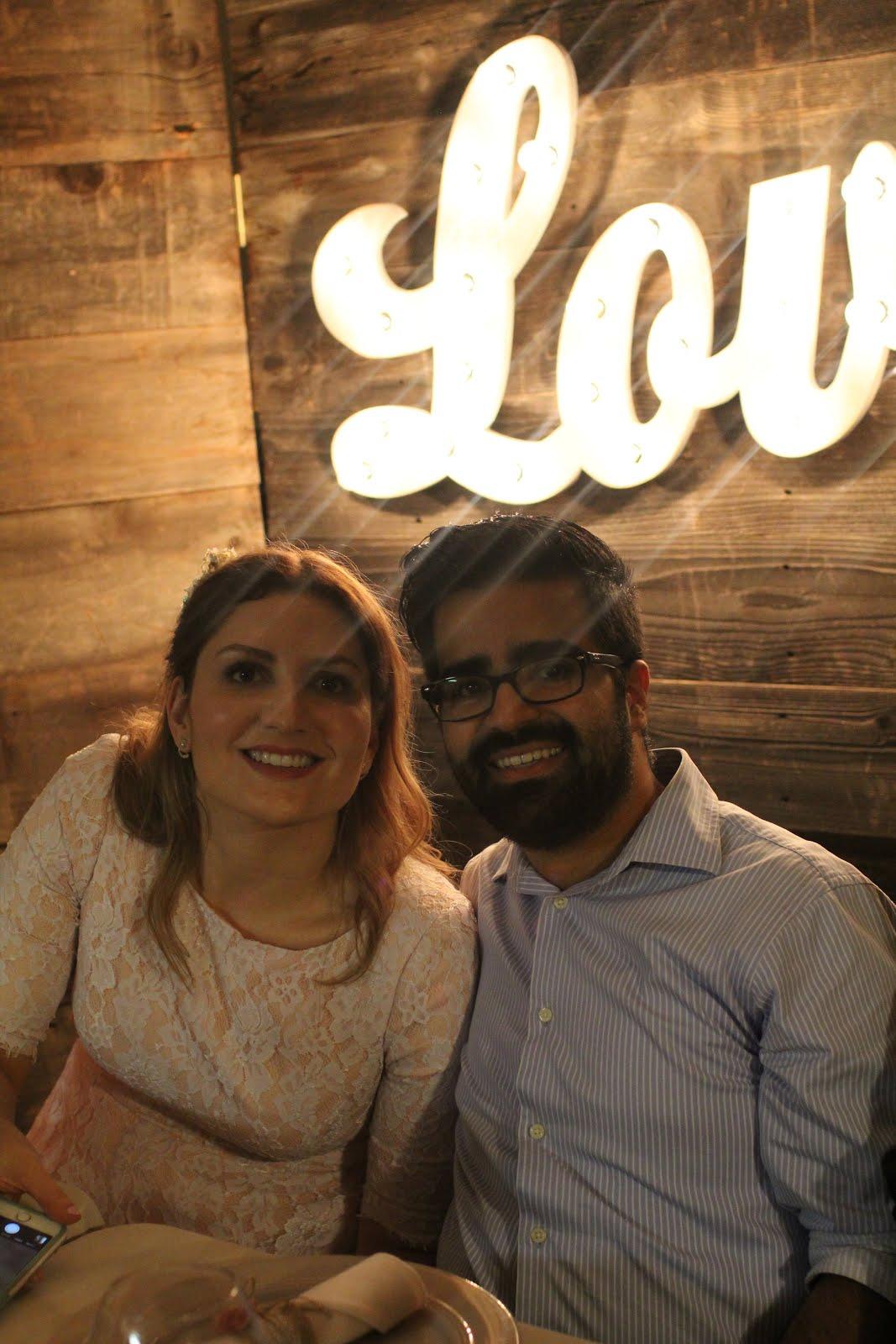 Marília e seu esposo Luís Miguel