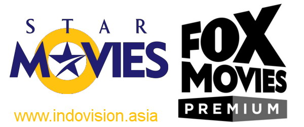 Logo Fox Movies Premium. Logo Star Movies.