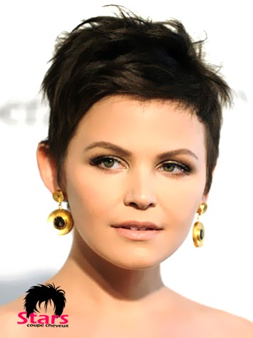 stars coupes des cheveux court coupe des cheveux coiffure ginnifer goodwin. Black Bedroom Furniture Sets. Home Design Ideas