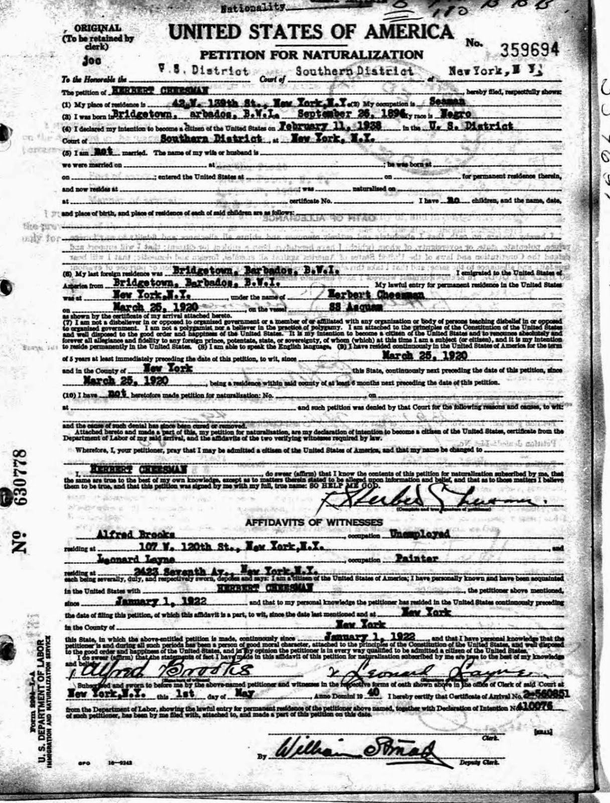Ancestry Com Selected U S Naturalization Records Original Documents