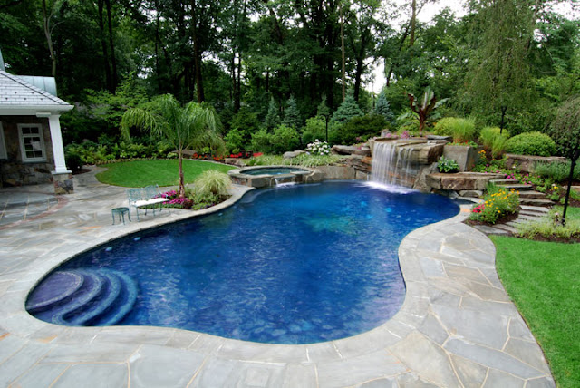Backyard Landscaping Ideas Swimming Pool Design
