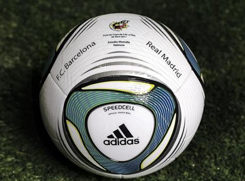 balón Adidas Final de la Copa del Rey 2011 Barça Real Madrid
